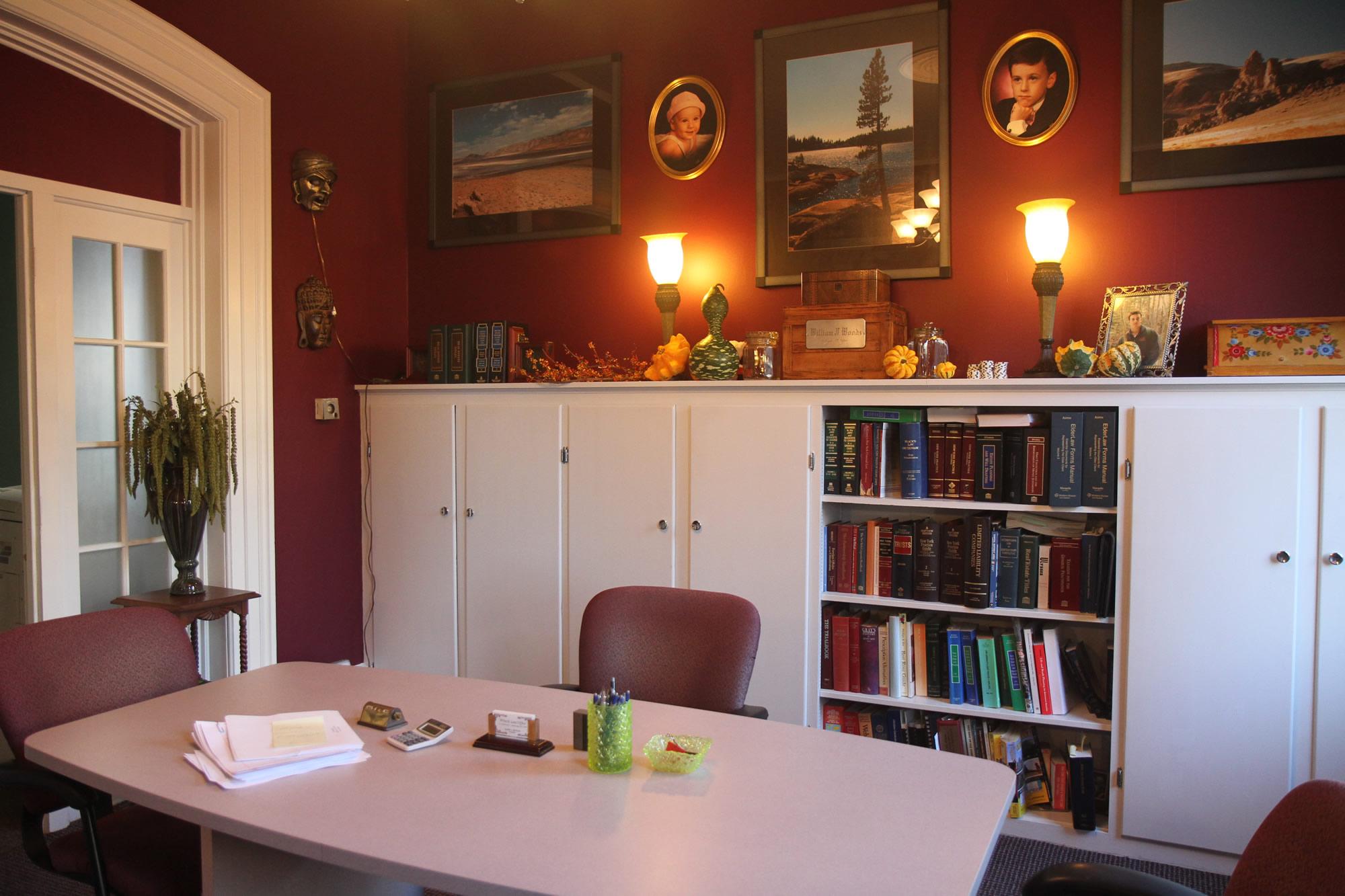 Inside Witecki Law Office