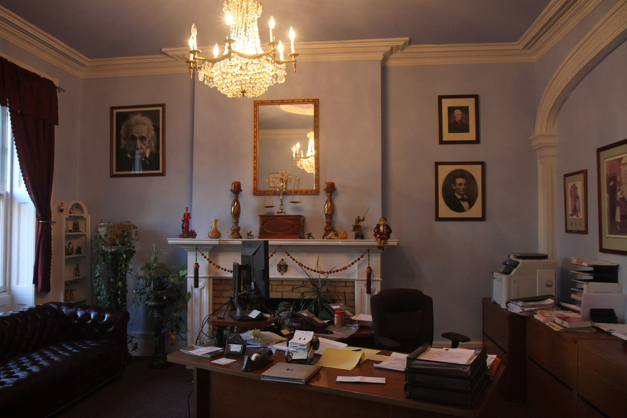Inside Witecki Law Office